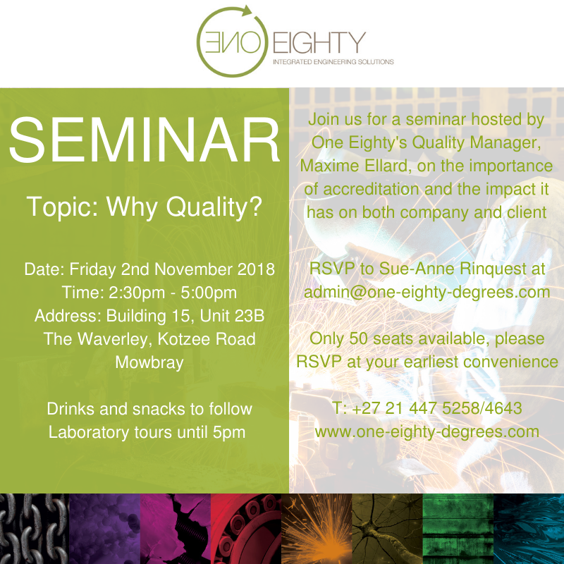 One Eighty Seminar